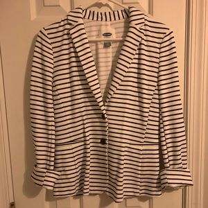 Striped Blazer (Old Navy)